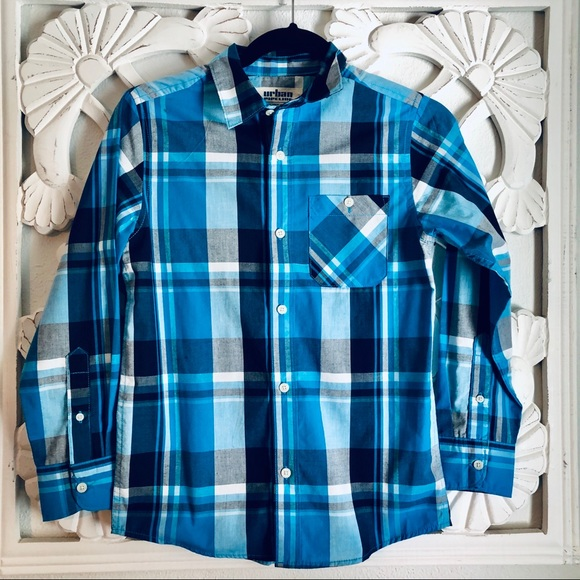 urban pipeline Other - Urban Pipeline Long Sleeve  Plaid Shirt M